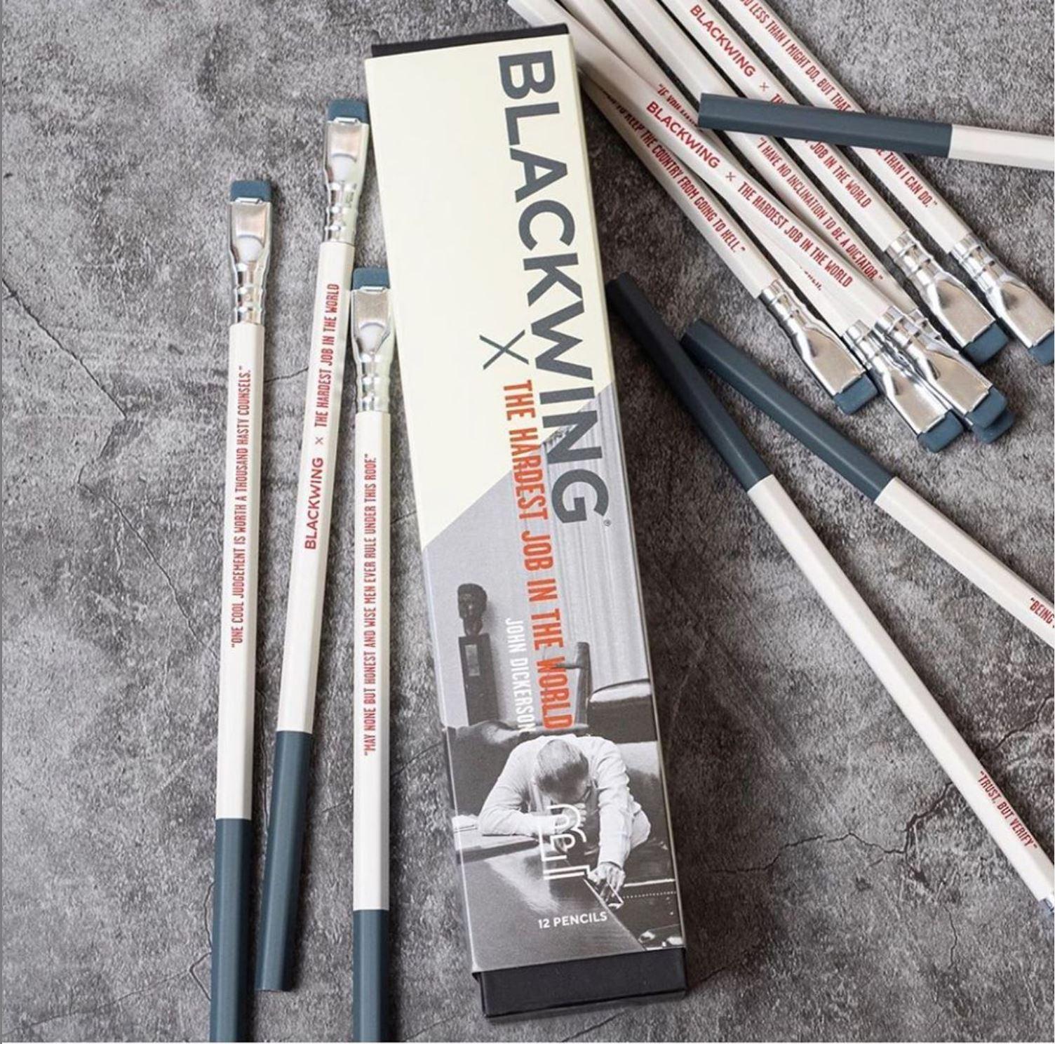 blackwing pencils john dickerson